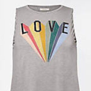 Maurices NWT's Plus Size Pride Love Graphic Tank 1